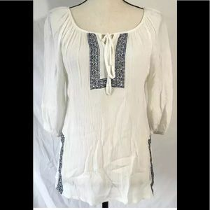 Anthropologie Solitaire Top Size S Boho
